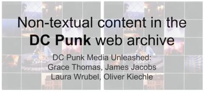DC Punk Media Unleashed Presentation