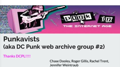 Punkavists Presentation